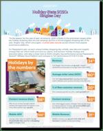 Holiday Stats 2020 Snapshot