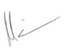Matt Gilbert Signature